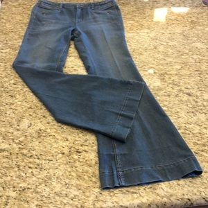 NWOT Women's CACHE Wide Bell Bottoms Sz 12